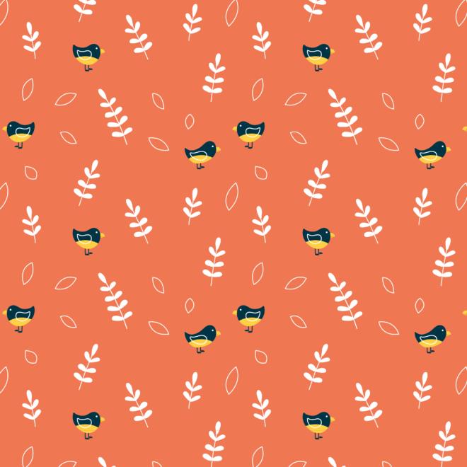 Patroon ontwerp vogels