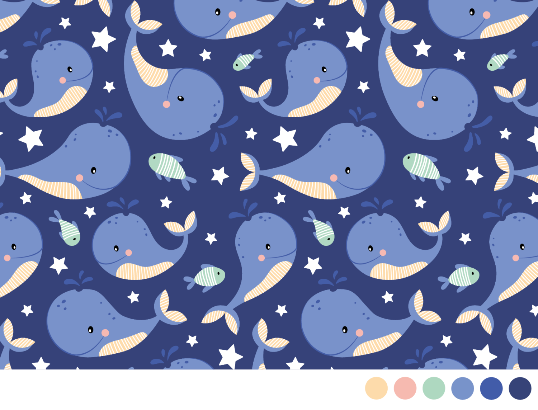 Lief behang ontwerp voor babykamers