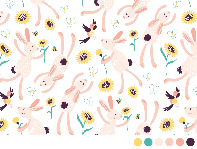 Patroon laten ontwerpen voor op stof