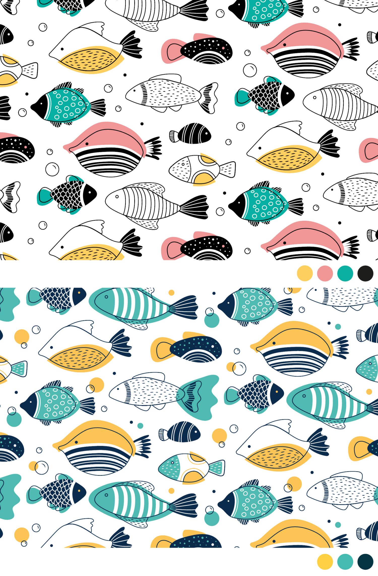 Vissen patronen